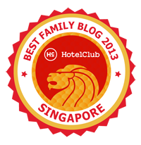 Badge FAMILY BLOG