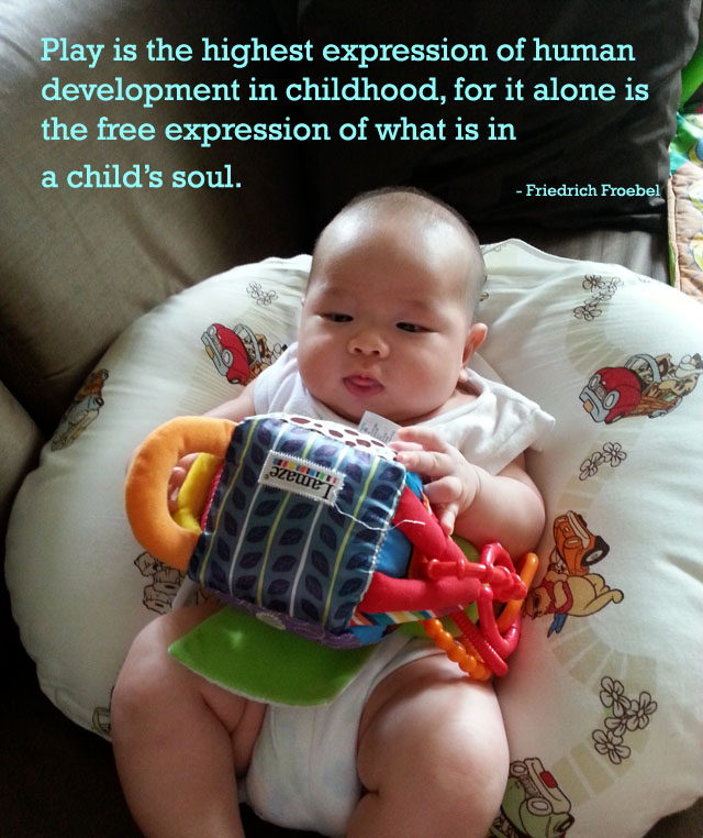 Old Baby Picture Quotes: 10 Ways To Play With Your Baby!