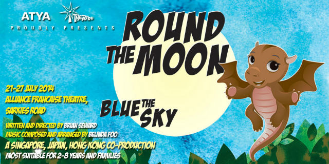 Round the moon theatre production