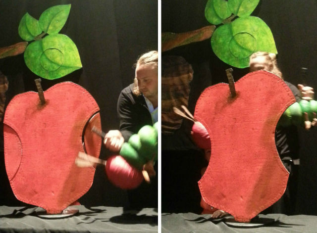 learning the tricks behind hungry caterpillar