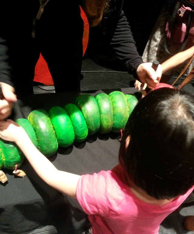 walking the hungry caterpillar puppet