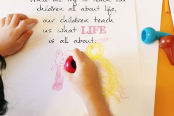 children teach us what life is about