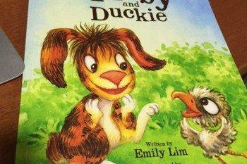Tibby and Duckie cover