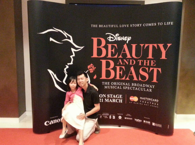 Beauty and dad ;)