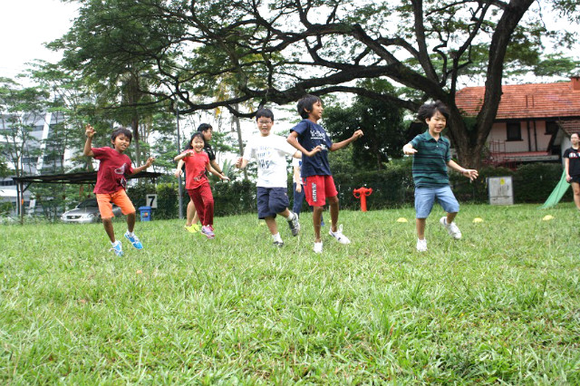 resilience camps by Insight N Access, children having fun playing sports