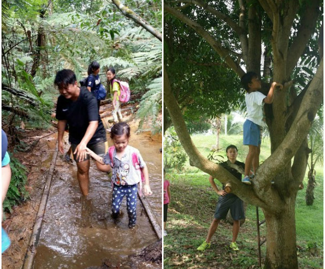 resilience camp, exploring the outdoors