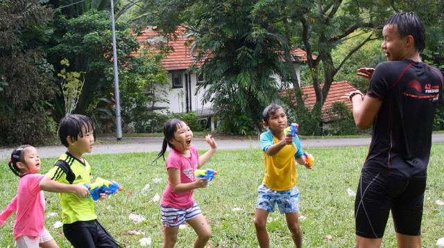 build resilience through camps